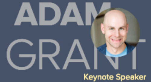 Adam Grant to Keynote Spring Journey Summit