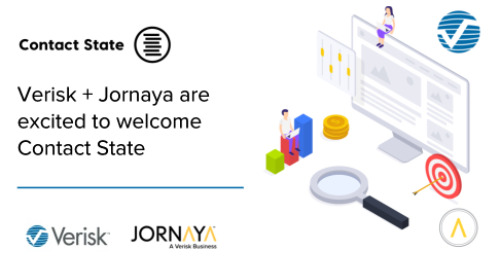 Verisk's Jornaya and Contact State Combine to Accelerate Trust, Transparency, and Performance in the Marketing Ecosystem
