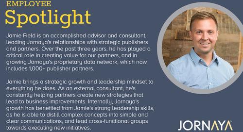 May Employee Spotlight: Jamie Field, Manager, Partnerships