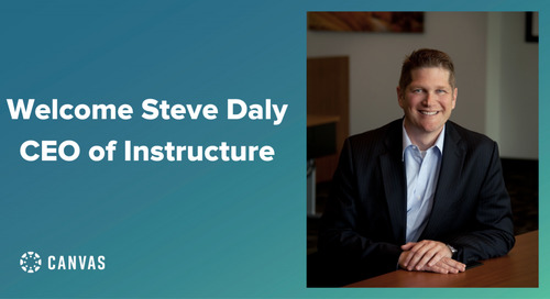 Welcoming our New CEO Steve Daly to the Canvas Family