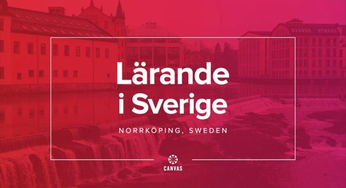 Lärande i Sverige & Canvas: Personalized Learning