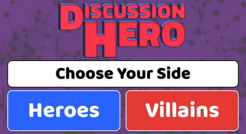 Discussion Hero Saves Students from Boring Discussions