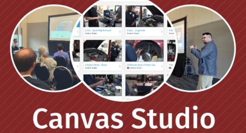 Increasing Engagement Through Canvas Studio