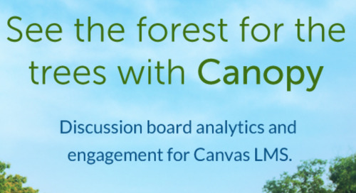 Engage Students More Deeply Using Canvas Discussions