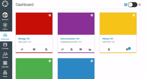 Cause for Celebration:The New Canvas User Interface is Here