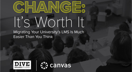 """A New LMS Playbook From Education Dive Asks, """"Why Is Change Worth It?"""""""