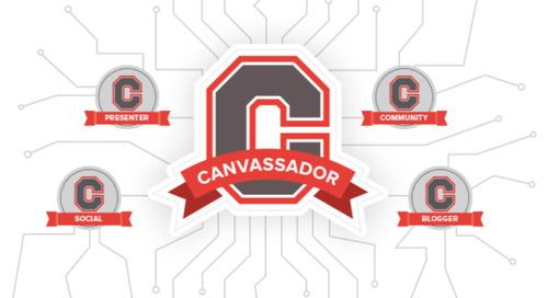 Canvas Expert? You Should Be A Canvassador!