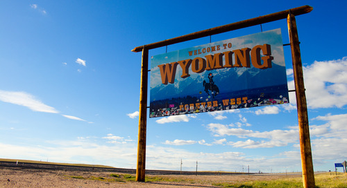 A Canvas Welcome to Wyoming!