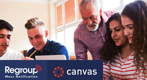 How Canvas Partner Regroup Mass Notification Can Help Keep Your School Safe
