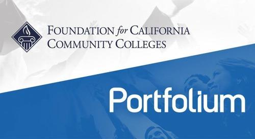 Portfolium Partners with Foundation for California Community Colleges
