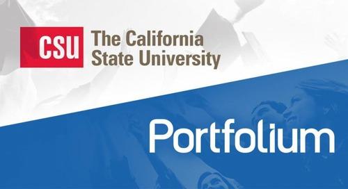 Portfolium Extends ePortfolio Partnership With Cal State University System