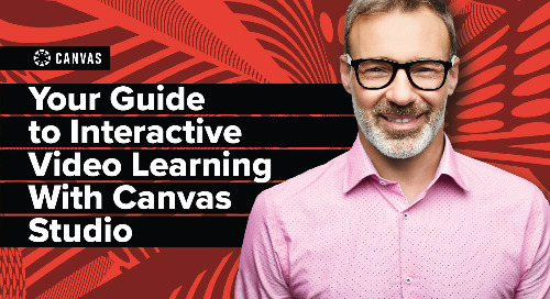Canvas Studio Guide: Higher Ed Edition
