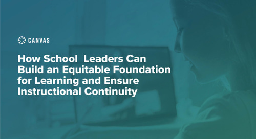 Build an Equitable Foundation for Learning