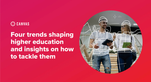 4 Trends Shaping Higher Ed
