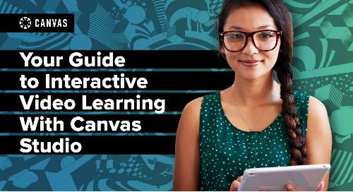 Canvas Studio Guide: K-12 Edition
