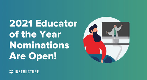 2021 Educator of the Year Nominations Are Open!