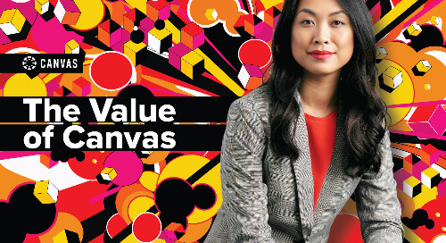 The Value of Canvas (Infographic)