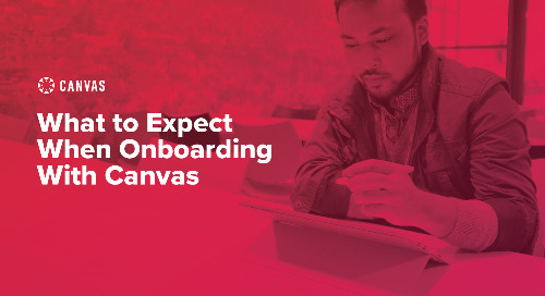 What to expect When Onboarding With Canvas Webinar