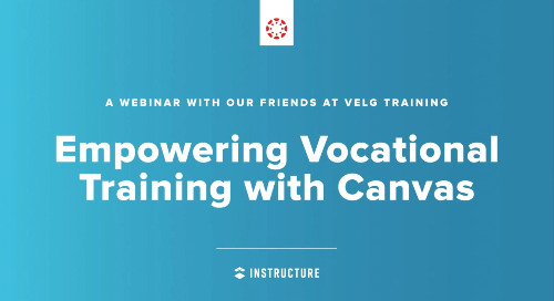 Empowering Vocational Training with Canvas