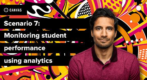 Canvas Essentials: Monitoring Student Performance Using Analytics