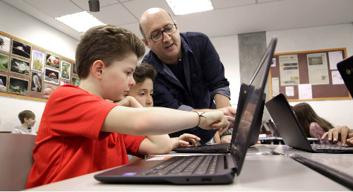 Rockingham County Schools: Canvas and Chromebooks Power Mobile Learning Initiative