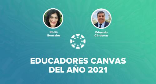 Docentes latinoamericanos ganan premio Canvas 2021