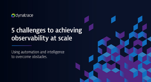 5 challenges to achieving observability at scale