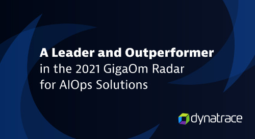 2021 GigaOm Radar for AIOps Solutions