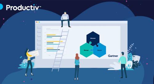 Productiv Listed in Gartner's Market Guide for SaaS Management Platforms
