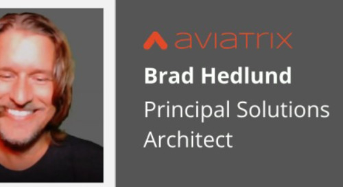 AWS Cloud Networking Expert Brad Hedlund Joins Aviatrix