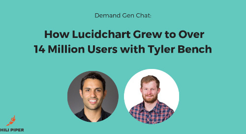 How Lucidchart Grew to 14 Million Users with Tyler Bench