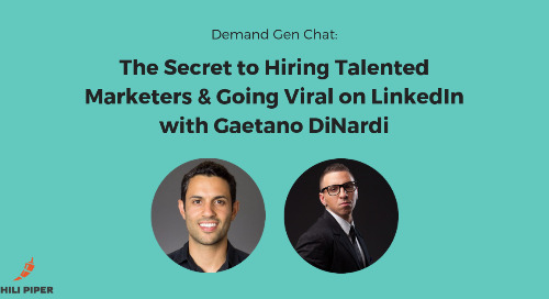 The Secret to Hiring Talented Marketers and Going Viral on LinkedIn