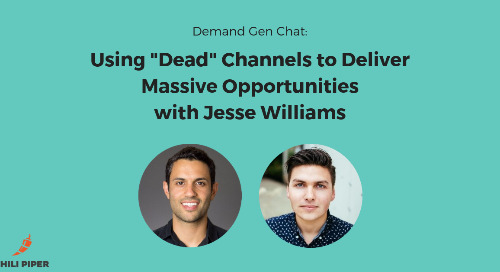 """Using """"Dead"""" Channels to Deliver Massive Opportunities with Jesse Williams"""