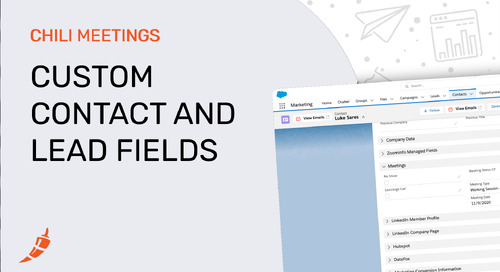 Custom Meeting Fields on Contacts and Leads