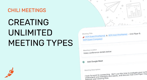 Creating Unlimited Meeting Types