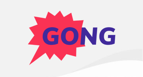 How Gong improved form conversion by 70% and fast-tracks ideal leads
