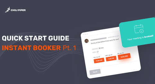 Quick Start with Instant Booker