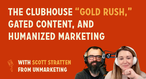 """The Clubhouse """"gold rush,"""" gated content, and humanized marketing   Scott Stratten from Unmarketing"""