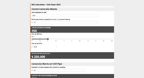 Chili Piper ROI Calculator