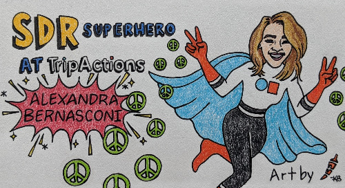 SDR Superhero Episode 2: Alexandra Bernasconi @ TripActions