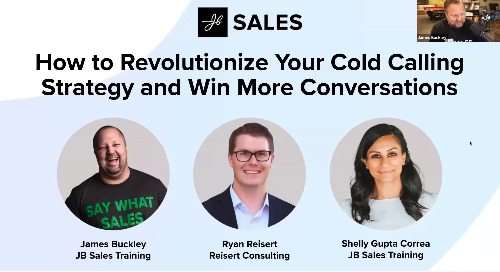 JB Sales - How to Revolutionize Your Cold Calling Strategy and Win More Conversations