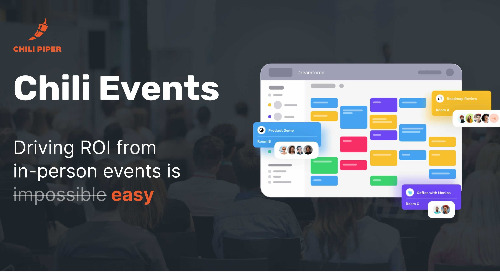 Chili Piper Launches New Platform to Automatically Schedule, Coordinate & Track In-Person Meetings at Conferences