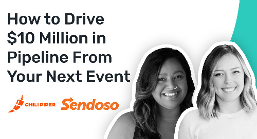 How Sendoso Used Chili Piper to Generate $10 Million in Pipeline from Dreamforce