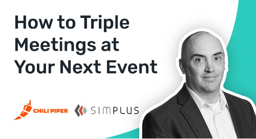 How Simplus Used Chili Piper to 3X Attributed Meetings at Dreamforce