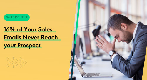16% of Your Sales Emails Never Reach your Prospect
