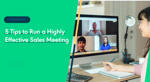 5 Tips to Run a Highly Effective Sales Meeting