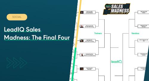 LeadIQ Sales Madness: The Final Four