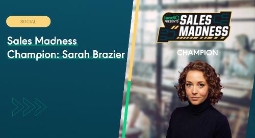 Sales Madness Champion: Sarah Brazier