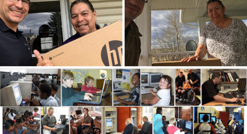 Chromebooks for our Communities | Giving Back During Covid