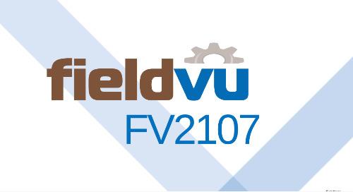 FieldVu Release | FV2107 Highlights